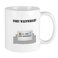 Fort Wainwright with Text Mug