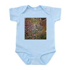 Gustav Klimt Italian Garden Infant Bodysuit