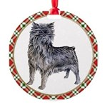 Affenpinscher Round Ornament
