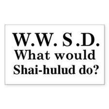 WWSD What would Shai-hulud do? Decal