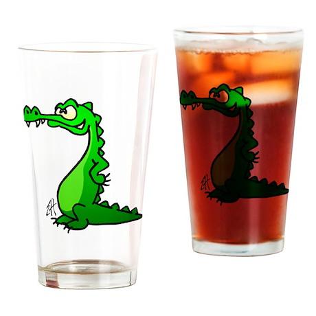 Crocodile Drinking Glass