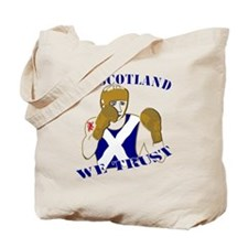 In Scotland boxing we trust Tote Bag