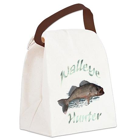 walleye hunter Canvas Lunch Bag