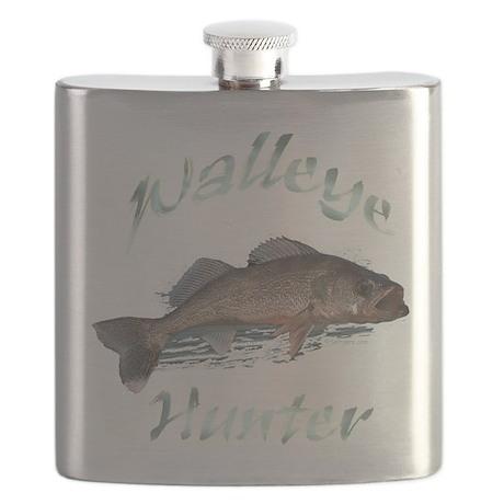 walleye hunter Flask