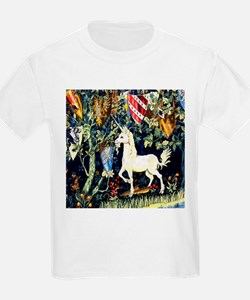 William Morris Unicorn T-Shirt