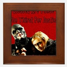 The Bad Samaritan - Thirst for Justice Framed Tile