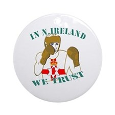 In N.Ireland boxing we trust Ornament (Round)