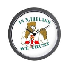 In N.Ireland boxing we trust Wall Clock