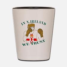 In N.Ireland boxing we trust Shot Glass