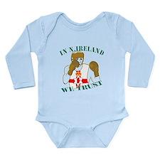 In N.Ireland boxing we trust Long Sleeve Infant Bo