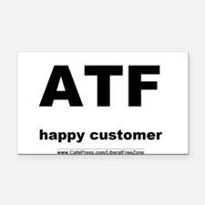 ATFbow10.PNG Rectangle Car Magnet