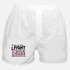 In Fight Because My Breast Cancer Boxer Shorts