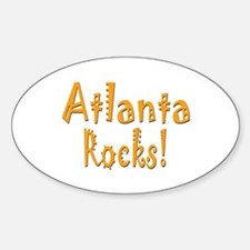 Atlanta Rocks! Oval Decal