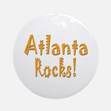 Atlanta Rocks! Ornament (Round)