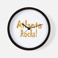 Atlanta Rocks! Wall Clock
