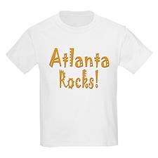 Atlanta Rocks! Kids T-Shirt