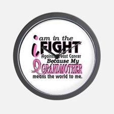 In Fight Because My Breast Cancer Wall Clock