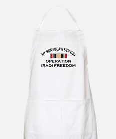 My Son-in-law Served - OIF Ri BBQ Apron