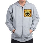 Clam Lake Lodge Imperial Club Zip Hoodie