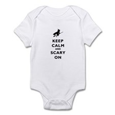 Keep Calm And Scary On Infant Bodysuit