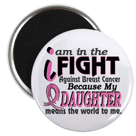 In Fight Because My Breast Cancer Magnet