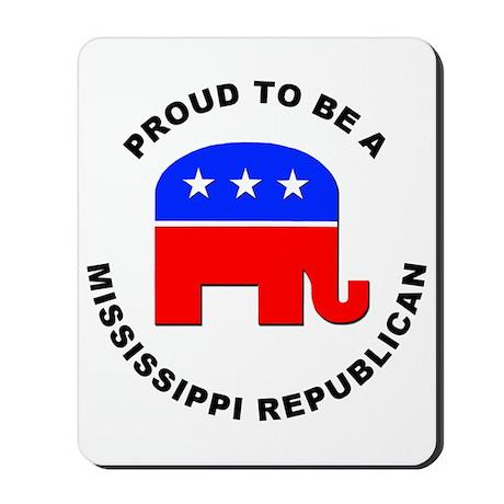 Mississippi Republican Pride Mousepad