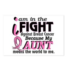 In Fight Because My Breast Cancer Postcards (Packa