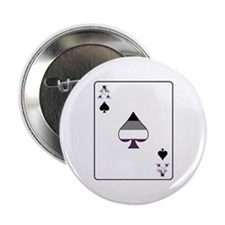 """Ace of Spades 2.25"""" Button"""