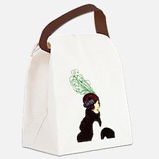 prettyhatlady Canvas Lunch Bag