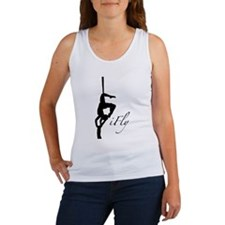 iFly Silk Silohouette Women's Tank Top