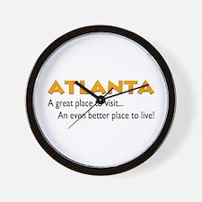 Atlanta...great place to live Wall Clock