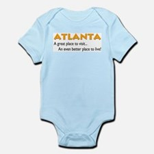 Atlanta...great place to live Infant Creeper