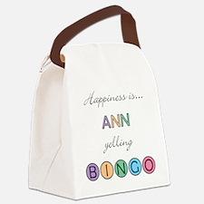 Ann Canvas Lunch Bag