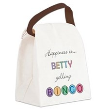 Betty Canvas Lunch Bag