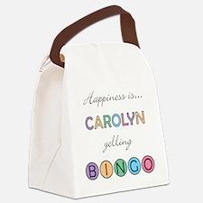 Carolyn Canvas Lunch Bag