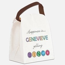 Genevieve Canvas Lunch Bag