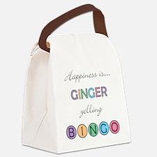 Ginger Canvas Lunch Bag