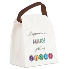 Mary Canvas Lunch Bag