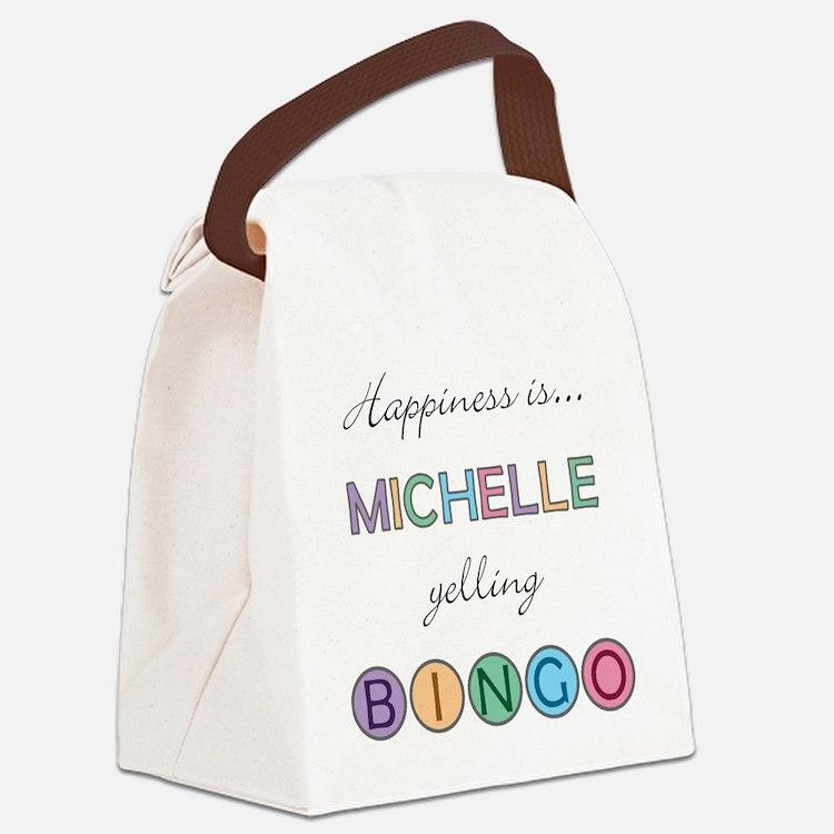 Michelle Canvas Lunch Bag