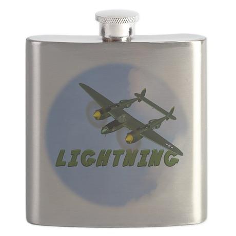 P-38 Lightning Flask