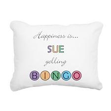 Sue Rectangular Canvas Pillow