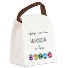Wanda Canvas Lunch Bag