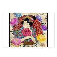 Kiku Postcards (Package of 8)