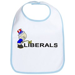 Piss On Liberals (anti-libera Bib
