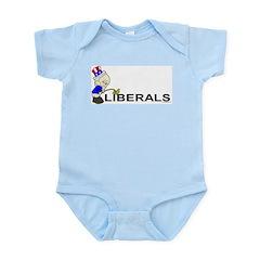 Piss On Liberals (anti-libera Infant Creeper