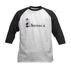 Piss On Liberals (anti-libera Kids Baseball Jersey