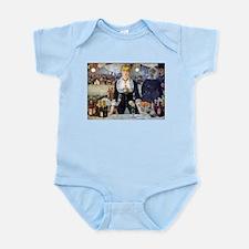 Édouard Manet Bar at the Folies Infant Bodysuit