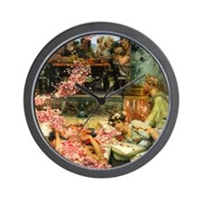 Alma-Tadema The Roses Wall Clock