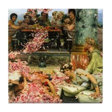 Alma-Tadema The Roses Tile Coaster