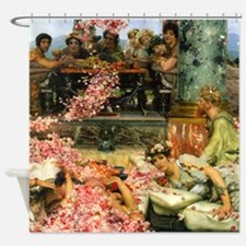 Alma-Tadema The Roses Shower Curtain